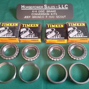 Timken Wheel Bearings for 4WD – Horsepower Sales, LLC