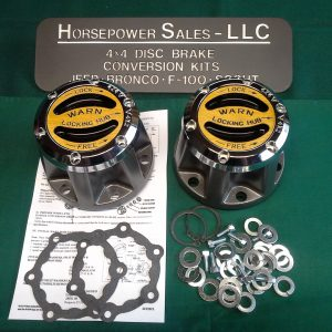 Warn Premium Locking Hub Set #20990 for dana 30, dana 44 + GM 10